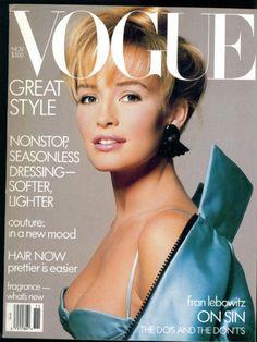 Vogue Us Novemebr 1986 - Estelle Lefebure