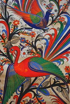"""All about Mexican traditional folkart: """"Amate Painting"""""""