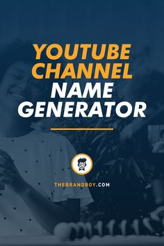 1 Million+ Catchy Youtube Channel Names ideas for your inspiration #YoutubeNames #namegenerator #YoutubeChannel Catchy Company Names, Catchy Names, Cool Names, Name Generator Business, Company Name Generator, Youtube Channel Name Ideas, Start Youtube Channel, Find A Business Name, Unique Business Names