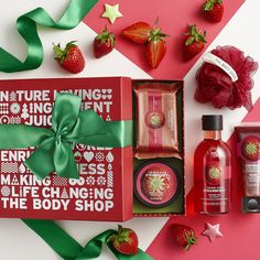 Bring season's squeals with our brilliant bath and body care sets. From our Strawberry to Coconut flavours, you're sure to find something to make them all aflutter.