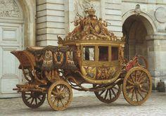 Tumblr.// State coach of Napoleon III. Versalles