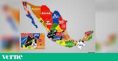 Este mapa muestra dónde nacieron 32 de las marcas más populares de México https://link.crwd.fr/3k7a