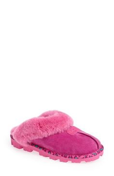 UGG® Australia 'Coquette Amur' Water Resistant Slipper (Women) available at #Nordstrom