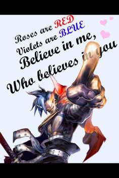 My valentine was great this year, but I wouldn't have minded getting something from Kamina.