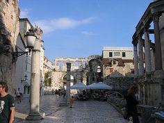 adriatic sea ruins | Roman Ruins in Split