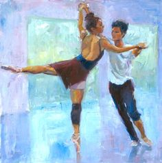 The Carolina Ballet On Canvas - Intimate Voices by Nicole White Kennedy  - http://www.nicolestudio.com/images/NicoleArt/Figurative_still_life.html