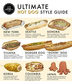"Welcome to the ""Inturnet"" — mmm hot dogs Wrapped Hot Dogs, Bacon Wrapped Hotdogs, Hot Dog Bar, Hot Dog New York, Como Hacer Hot Dog, Dog Recipes, Cooking Recipes, Party Recipes, Recipies"