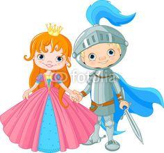 Medieval Lady e Cavaliere