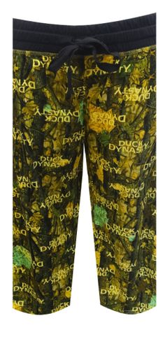 Duck Dynasty Green Leaf Capri Lounge Pants Calling all Duck Dynasty fans! Get ready to get lost in these awesome capri length l...
