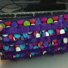 Duck tape purse