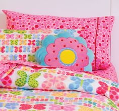 #Hiccups Bubble Spot Sheet Set Pink