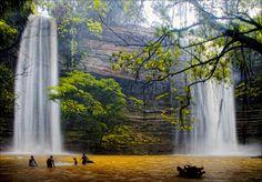 Boti Falls, Eastern Region, Ghana | by paulinuk99999