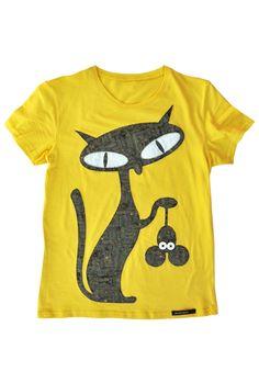 Natural Mouse Killer - yellow   Camiseta de patchwork  Patchwork t-shirt  www.personalclothink.com