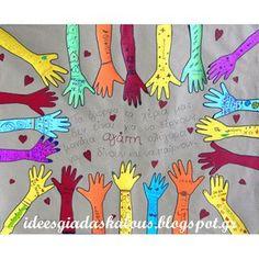 6 Μαρτίου-Ημέρα κατά της βίας στο σχολείο Diy Crafts For School, Diy And Crafts, Crafts For Kids, School Craft, 4 Kids, Art For Kids, Welcome September, September Crafts, Anti Bullying