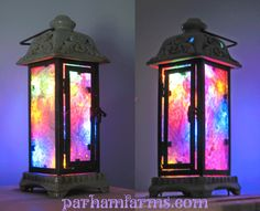 More Fairy Lanterns, with a little explanation of how easy it is to make them yourself.