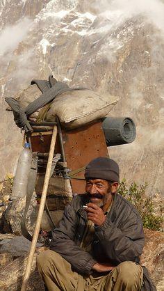 "Baltoro ""singer"" Trekking Baltoro, Pakistan"