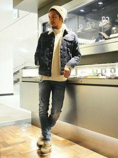 ショップスタッフ KOTAMISAWA│DIESELのデニムジャケットコーディネート-WEAR