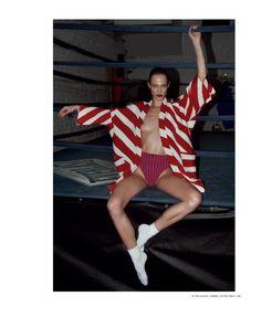 i-D Magazine - Aymeline Valade The Gymnast