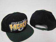 GREEN BAY PACKERS REEBOK ADJUSTABLE ONE SIZE FITS ALL SNAPBACK CAP HAT FREE SHIP #Reebok #GreenBayPackers