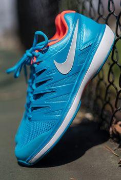 buy popular d0957 ff90c Nike Air Zoom Prestige Womens Tennis Shoe - Lt Blue Fury Metallic  Silver Neo Turquoise