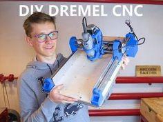 DIY Printed Dremel CNC: 21 Steps (with Pictures) - Décoration et Bricolage Arduino Cnc, Routeur Cnc, Diy Cnc Router, Dremel Router, 3d Printer Designs, 3d Printer Projects, Cnc Projects, Woodworking Projects, Cnc Woodworking