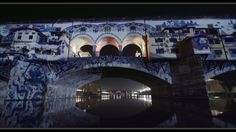 #Videomapping:  #PonteVecchio di #Firenze by #TheFakeFactory per #FlightFestival #arte #art