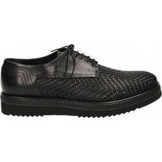 opvallende Alberto Guardiani a.guardiani aldon heren sneakers (Zwart)
