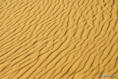 Kalahari Sand Patterns - Wind patterns in the sand dunes of Witsand Nature Reserve in the Kalahari (Northern Cape, South Africa); By Martin Heigan