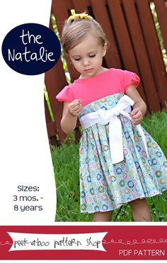 Natalie Dress: 3 mos. - 8 years,
