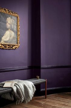 How to add the impossible Ultra Violet's Pantone color of the year 2018 in your home? Here are French By Design approved Ultra Violet interiors. Best Interior Paint, Purple Interior, Best Interior Design, Interior Design Inspiration, Luxury Interior, Design Ideas, Design Trends, Interior Office, Retail Interior