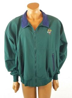 76171738cf4a US Open Men s Golf Champion Green Jacket Size 2XL Zip Up Embroidered 1996   StarbusWeatherScreen