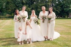 Bridesmaid dresses same color but different styles of music
