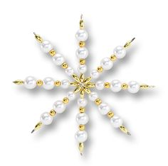 Perlensterne als Wohndekoration zu Weihnachten - mehr unter http://www.folia.de/epaper/folia_neuheitenkatalog_2014/catalog_4267182/index-sd.html#/18