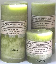 Light Olive Green Oakmoss Sage & Sweetgrass Fragrant by Badanbody, $27.00