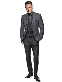 Costume homme gris— chez helline.fr
