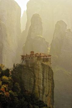 Meteora, Greece ~ Monastery
