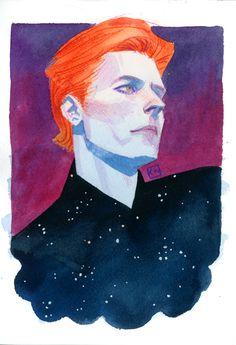 David Bowie - Kevin Wada