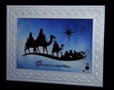 Bethlehem by 3boymom - Cards and Paper Crafts at Splitcoaststampers