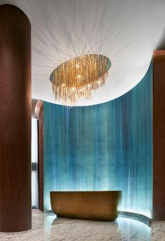 Photographs of hospitality locations by Evan Dion. Spa Design, Lounge Design, Design Room, Design Ideas, Hotel Lounge, Bar Lounge, Spa Interior, Lobby Interior, Interior Architecture