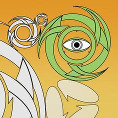 #vectors #october #corel #coreldraw #spiral #tribal