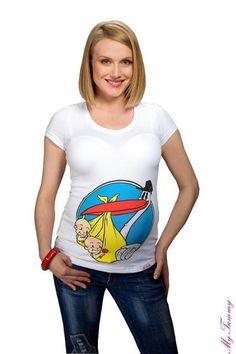 T shirt premaman divertenti nuovi 3