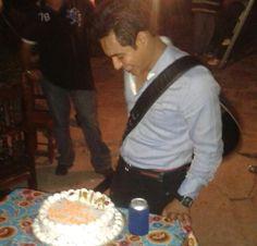 Ariel Camacho en su último cumpleaños
