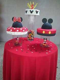 Mickey and Minnie Twin Birthday Childrens Birthday Cakes
