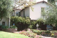 Jean Harlow's last home in Beverly Hills, California