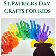 My Happy Homestead: St.Patrick's Day Crafts for Kids