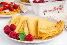 Naleśniki budyniowe - I Love Bake Gluten Free Recipes, Recipies, Deserts, Food And Drink, Healthy Eating, Sweets, Snacks, Meals, Chocolate