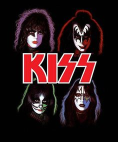 Rock N Roll, Rock And Roll Bands, Blues Rock, Paul Stanley, Eric Singer, Kiss Group, Concert Rock, Classic Rock Bands, Rock Poster