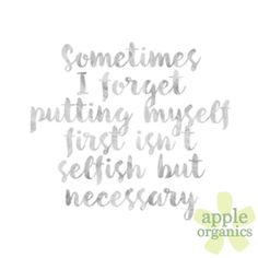Take care of yourself first. By doing so, everything else will fall into place! Happy Sunday! #Happy #Sunday #SundayFunday #Live #Love #ToxicFree #AnAppleADay #OrganicSkincare #AllNatural #Vegan #CrueltyFree #Beauty #SkinCare #SmallBatch #GreenBeauty #ecoSkincare #ShopSmall #GreenvilleSC #yeahTHATgreenville #HaveABeautifulDay #BeautifulSkinStartsHere #AppleOrganics #Shop #Follow #OrganicBeauty #NaturalBeauty #WomenInBusiness