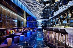 At Hong Kong Hotel, the Highest Bar in Asia
