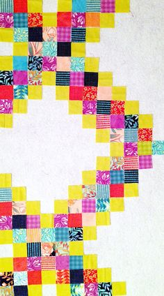 Canoe Ridge Creations: Oh Scrap! | Scrappy Chain Tutorial #quilts #modernquilts #scrappyquilts